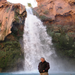 Danny Spitler poses in front of Havasupai Falls