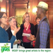 WGBY Members meet Keb' Mo' after a recent concert.