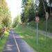 Entrance ramp to Harvest Moon/Munger Hill neighborhood(s)