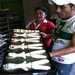 Carmen and Damian baked special bread in honor of the dead for Dia de los Todos Santos.