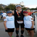 At the Finish line with my kids - Brandon and Olivia