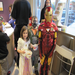 A princess, Bane and Iron Man enjoying frozen yogurt at our USpoon Fundraiser