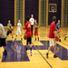 Coach Buck running a session of basketball camp.