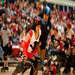DC DemonCats Jammer, Nina Ninja, slips past Scare Force One's Soledad