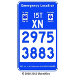 USNG Emergency Location Markers