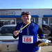 This is me at the finish of the Myles Standish Marathon (my first marathon) in Plymouth MA on November 18, 2012.