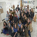 Students and professors in the Five College Advanced Studio Seminar (Photo: Nancy Palmieri).