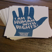 """I Am a Human with Rights!"" postcards - one way we're saying thanks"