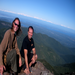 Jerry and I at the summit of Mount Townsend.