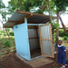 Rau Children's Center new sanitary latrine