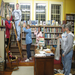 Volunteers at the Haydenville Library~ Friends made possible the recent interior painting and decoration