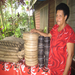 Asenaca Qalilawa used her loan to purchase a sewing machine, inventory for weaving & manure for flower growing.