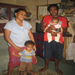 Aspiring baker and her family in Fiji