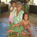 Grandmother with grandchildren (Samoa)
