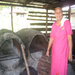 SPBD client who purchased new ovens for her bakery business (Savaii, Samoa)