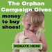 Your donations puts shoes on their feet