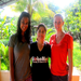 GROW 2012: Rashi and Madison with Marlene, our primary partner contact and nurse at CAM