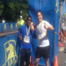 Danielson and I tackled the BAA 10K Race 2012