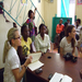 Linda (on the left), a Founding Catalyzer and Board Member, visiting Haiti to learn more about women's lives