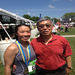 Running in honor of my dad, retired US Army Colonel John Yee.