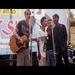 """Bijay, and I singing """"baby"""" by Justin Bieber with some of our Young Life friends at a concert to promote Camp"""