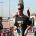 Running in the 2012 Surf City Half Marathon.