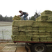 Lessons from a bale of hay include a strong work ethic.  And a strong back.
