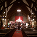 MDSC in rehearsal at historic St. Saviour's church in Bar Harbor, ME