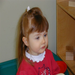Abby, age 3, a year after Rett syndrome first made its presence felt