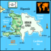 Island of Hispaniola- Dominican Republic and Haiti