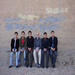 Mike with group of Kurdish youth, Erbil 2009