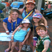 Mw with my kiddos at the finish of the 2012 Boston Marathon