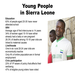 Young People in Sierra Leone
