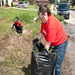 Mission 2012: New Orleans clearing overgrown weeds in front lawn
