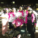 Melody with her divas at the 2012 Race for the Cure