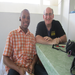 John and our Haitian host, Dr. Francel Alexis