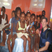 Dr. Dirk Leu, visiting orphanage near Adventist Hospital, Carrefour