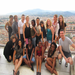 On top of the Florence Duomo with my SUNY Albany group