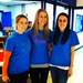 Nicole, Steph, and I at our 3 on 3 basketball tournament fundraiser!
