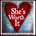 Do you think She's Worth It? I do! Help us show the world every woman is worth saving from sex slavery.