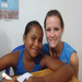 Amy and Cindy, the sweet girl that we sponsor!  Love having a face to face relationship with her also!