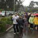 Running a 5K in the Rain with Girls on the Run!