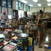 Here is the library in June 2012, the beginning of the book sorting phase.
