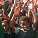 Joyful Students at Wiphan in Zambia