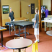 No youth center would be complete without ping pong!