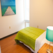 A cheerful room encourages healing at CA's Autumn West facility for those with mental illness who have been homeless.