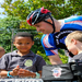 LEU Riders stop at a school in Virginia