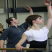 Adam Sklute, Ballet West Artistic Director, conducting a master class at KAB. December 2012