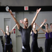 Matthew Rushing, Alvin Ailey American Dance Theater Rehearsal Director/Choreographer, conducting mater class at KAB