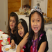 Girls attending our tea party fundraiser